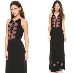 Dresses & Skirts - MADEWELL embroidered kilim bohemian maxi dress
